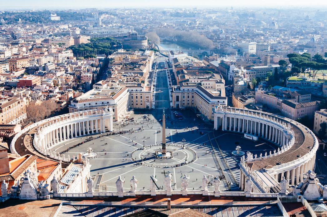 St Peter's square, Vatican